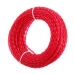 Оригинал 5m x 3mm Nylon Триммер Линия Веревка Кабель для рулонного кабеля Провод String Grass Strimmer Сад