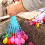 Оригинал Honana NB-693 111pcs Amazing Волшебный Вода Воздушный шар С Refill Трубка Bunch Summer Cool Game