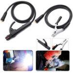 Оригинал 300A Grud Welding Earth Зажим Набор зажимов для сварочной машины MIG TIG ARC 1.5M Cable 10-25 Plug