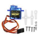 Оригинал 3Pcs / Pack KittenBot 23×12.2x29mm SG90 9g Mini Сервопривод с 25cm Провод для Smart Robot Авто
