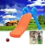Оригинал НаоткрытомвоздухеСадYardKids Mini Складной слайд с баскетбольной корзиной Внутренние детские игрушки Slide