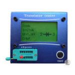 Оригинал Mega328 M328 LCR-T4 12846 LCD Цифровой измеритель тестеров транзисторов Подсветка диодов Triode Емкость ESR