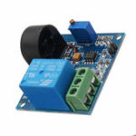 Оригинал DC 12V 5A Защита от перегрузки по току Датчик Модуль AC Current Detection Relay Module Switch Output