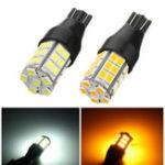 Оригинал 1Pcs T15 LED Авто Резервная обратная сторона Сторона Маркерная лампа Лампа DC 10-24V Желтый / Белый