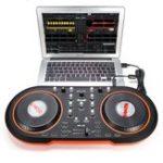 Оригинал Blacknote MID-100 Компьютерная DJ-система USB MIDI DJ Контроллер Тормозной диск для MAC и ПК