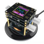 Оригинал QI Wireless Charger Tester Цвет TFT Bluetooth Android Приложение для ПК USB Токовый измеритель напряжения Индикатор детектора нагрузки DC Voltmeter