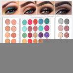 Оригинал 63 Colors Eye Shadow Palette Smoky Matte С блестками Highlighter