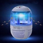 Оригинал Электрический 6 LED USB-комаров-убийц насекомых Лампа Fly Bug Zapper Trap Catcher UV Light