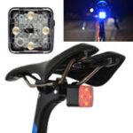 Оригинал XANESSTL12SmartLightДатчикMini Bike Taillight 4 режима 150m Visable IP55 Водонепроницаемы USB аккумуляторная 45 г только без безопасного расстояния Ла