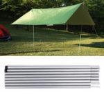 Оригинал 8шт.Тент-полюсКемпингРегулируемыйтент. Универсальные палаточные штанги. Палатка, поддерживающая палаточные принадлежности.