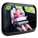 Оригинал 360°ПоворотныйАвтоЗащитныйреверс Back Back Seat Зеркало заднего вида подголовника Square Baby Монитор