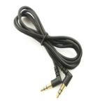 Оригинал LEORY 0,5 м 3,5 мм разъем Aux Audio Cable Прямой угол для мужского удлинителя для наушников Провод