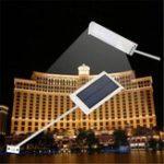Оригинал Водонепроницаемы На открытом воздухе 24 LED Солнечная Power Street Лампа Сад Защитный настенный светильник
