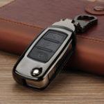 Оригинал ЦинковыйсплавАвтоКлючЧехол/ сумка Защитная крышка Дистанционное Управление Фоб для VW для Volkswagen GTI Golf Jetta