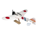 Оригинал MinimumRC A6M2 Zero Backyard Fighter Series 240mm Wingspan Warbird RC Самолет KIT + Двигатель / PNP