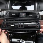 Оригинал Консольный центр Решетка решетки AC Air Нагреватель Вентиляция для BMW 5 Series 520 525 528 535