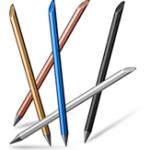 Оригинал Металлические чернильные модные ручки 0,5 мм Финишная графика Написание чертежей Бета-ручка Офис Школа Принадлежности