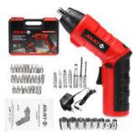 Оригинал 45 In 1 Набор 4.8V Cordless Electric Отвертка Power Drills Инструмент бит с зарядным устройством / Чехол