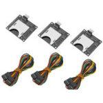 Оригинал 3шт 45 * 40 мм Независимый внешний слот для SD-карт с 20-сантиметровым Dupont-кабелем Аксессуары для 3D-принтеров