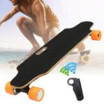 Оригинал ALFAS250W15km/hЭлектрический скейтборд Scooter Дистанционное Управление Longboard 7-слойный кленовый досок для досок