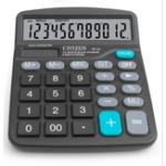 Оригинал GTTTZEN M28 Солнечная Калькулятор 12 Двойной компьютер компьютера Черный калькулятор Gift Office Home Portable