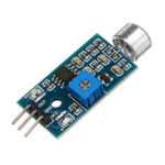 Оригинал Распознавание голоса Датчик Модуль распознавания звука модуля Высокая чувствительность Микрофон Датчик Модуль DC 3.3V-5V