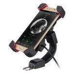 Оригинал 3.5-7inch Мобильный телефон Houlder Bracket 2.1A Зарядное устройство USB мотоцикл Монтажная плата для зарядки