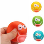 Оригинал 4PCS Новинки Игрушки Pop Out Игрушка Clown Squishy Stress Relief Toy Funny Gift Big Routh Vent Toys
