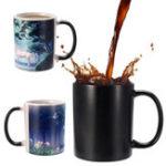 Оригинал 350mlНовинкаЕдинорогтеплацветИзменение кофе кружки Home Office Cup Kids Gifts