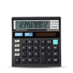 Оригинал GTTTZEN CT-512 Калькулятор Экономичный Солнечная Dual Power Computer Office Home Школа Канцелярские товары