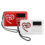 Оригинал Электронный библейский аудио MP3-плеер LED Экран перезаряжаемый Mini Радио TF Card
