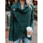 Оригинал Женское Зимняя водолазка с длинным рукавом вязание свитера