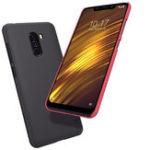 Оригинал NILLKINМатоваяударопрочнаяжесткаязадняякрышка для ПК Чехол для Xiaomi PocophoneF1