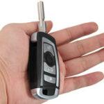 Оригинал 4 Кнопки 433MHZ Модифицированное Floding Дистанционный Ключ без 7935AA ID44 Чип для BMW