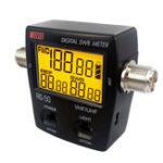 Оригинал RS-50 Цифровой измеритель SWR / Watt LED Подсветка UHF VHF M Тип Коннектор 120W для Kenwood Baofeng Walkie Talkie RS50