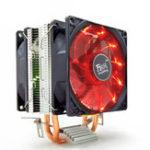 Оригинал 12V 3Pin Бесшумный Охладитель охлаждения охлаждающего вентилятора с двойной башней для Intel LGA1150 1151 1155 AMD 2/3 +