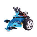 Оригинал Hellobot DIY Программирование робота Микробита Учебные комплекты Ручной вилочный захват Smart Robot Авто