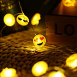 Оригинал Батарея Powered 2M 20 LEDs Expression Shape Провод String Light для новогоднего праздника Рождества