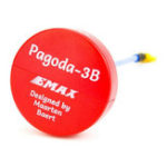 Оригинал EMAX Pagoda 3B 5.8G 90 мм длинный RHCP W / MMCX от Maarten Baert FPV VTX Антенна Красный