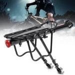 Оригинал BIKIGHTАлюминиевыйсплаввелосипедзаднийкронштейн стойки 50 кг загрузки Quick Release Велоспорт Багаж стойку