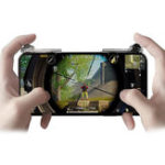 Оригинал Bakeey Прозрачный телефон Геймпад Trigger Fire Button Game Controller Стреляйте в ключ для телефонного планшета