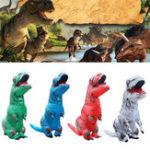 Оригинал НадувнаяодеждадлядинозавровHalloweenParty Costume Air Blowing Up для Для взрослых Смешные игрушки