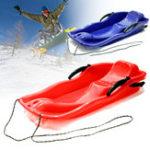 Оригинал НаоткрытомвоздухеПластиковыелыжныедоски Sled Luge Snow Grass Песочница с Веревка для двоих людей