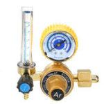 Оригинал 0-25 MPA Аргоновый счетчик Mig Flow Pressure Gauge Gas AR / CO2 Регуляторы Сварочные сваи