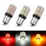 Оригинал 1Pcs 1156 BA15S LED Авто Тормозной стоп-сигнал Turn Turn Обратный Лампа Bulb 4.2W 864LM Красный / Желтый / Белый