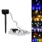 Оригинал 30 LED Солнечная Power Christmas Fairy String Light Party На открытом воздухе Декорация патио Лампа