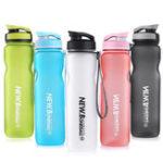 Оригинал 1000MLНаоткрытомвоздухеСпортивнаяпортативная бутылка для воды Пластмассы для чайника BPA бесплатно Кемпинг Travel Спортзал