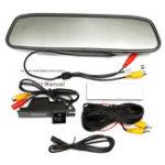 Оригинал 4.3дюймовTFTLCDЦветМонитор ПЗС-реверс HD Цифровой Авто Вид сзади камера Для Vauxhall Zafira