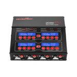 Оригинал Ultra Power UP240AC Plus 2X120W 2A 4X60W 6A 4CH AC / DC Батарея Зарядное устройство для зарядки аккумулятора