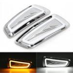 Оригинал Пара Авто LED Противотуманные фары дневного света Лампа для Ford F150 Raptor SVT DRL 2009-2015